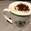 コーヒービーン&ティーリーフのアーモンドミルク カラメル ラテは甘さちょうどで飲みやすい