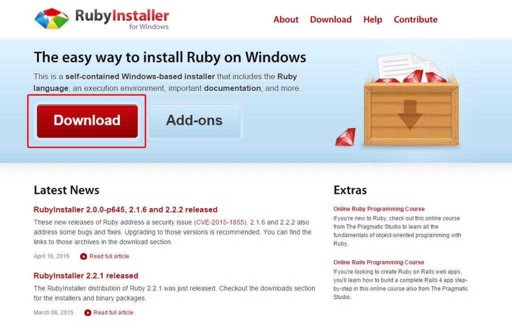 01_RubyInstaller